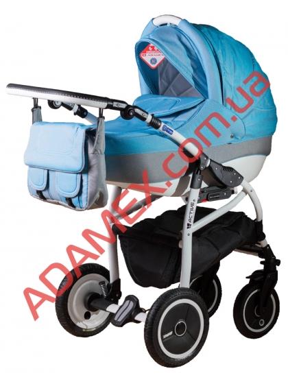 Коляска 2в1 Adamex Active Len 87L