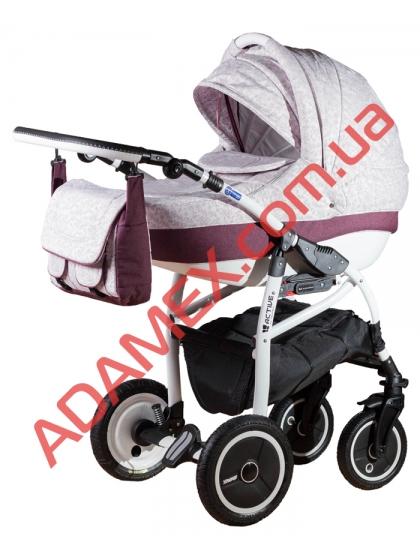 Коляска 2в1 Adamex Active Len 232W