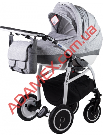 Коляска 2в1 Adamex Active Len 241W
