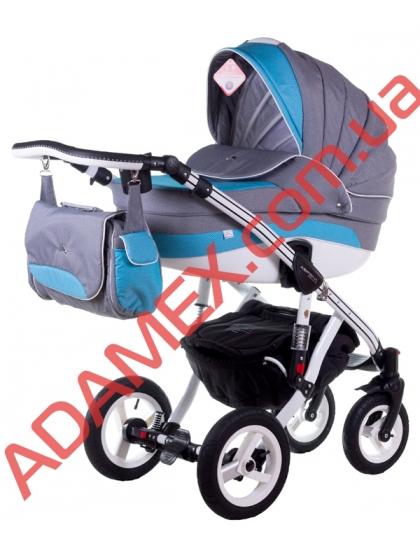 Коляска 2в1 Adamex Aspena Delux 87L