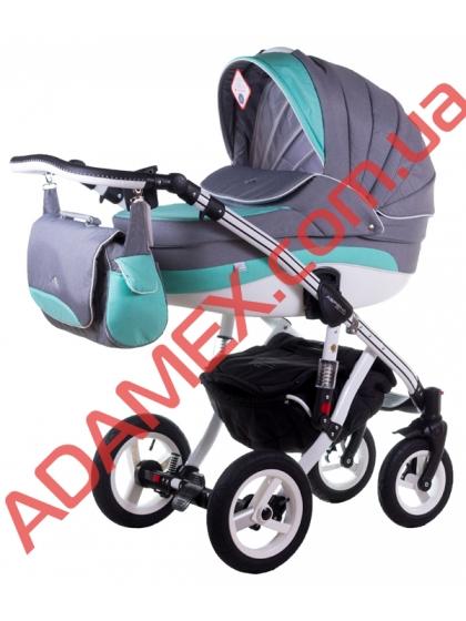 Коляска 2в1 Adamex Aspena Delux 92L