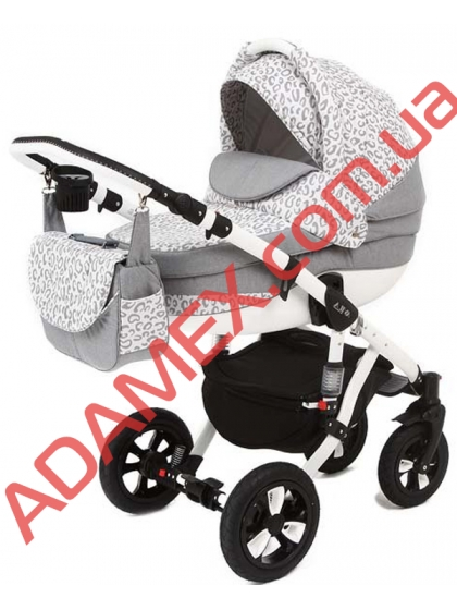 Коляска 2в1 Adamex Avila 62G