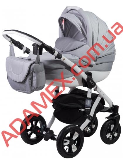 Коляска 2в1 Adamex Avila Len 88L