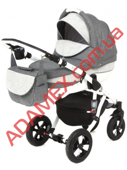 Коляска 2в1 Adamex Avila Eco 604K