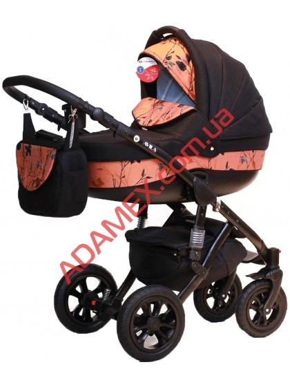 Коляска 2в1 Adamex Avila Eco 623K