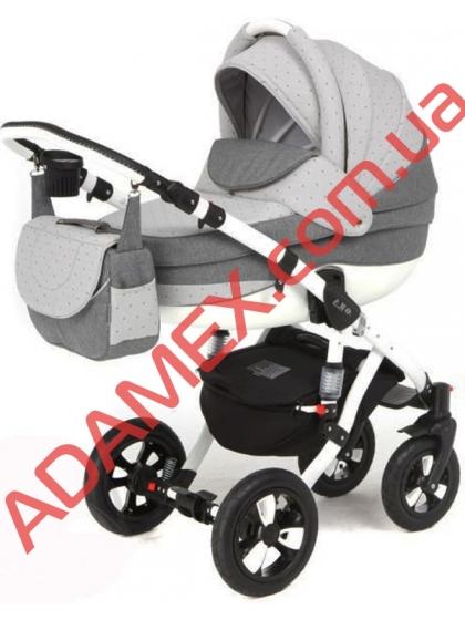 Коляска 2в1 Adamex Avila Len 113L