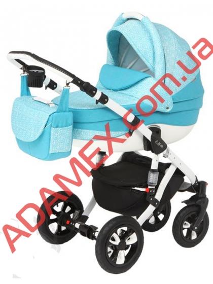 Коляска 2в1 Adamex Avila Len 259W