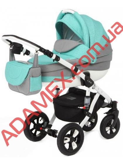 Коляска 2в1 Adamex Avila Len 290W