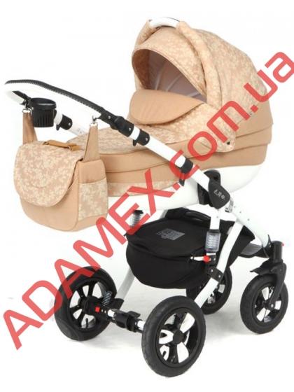 Коляска 2в1 Adamex Avila Len 323W