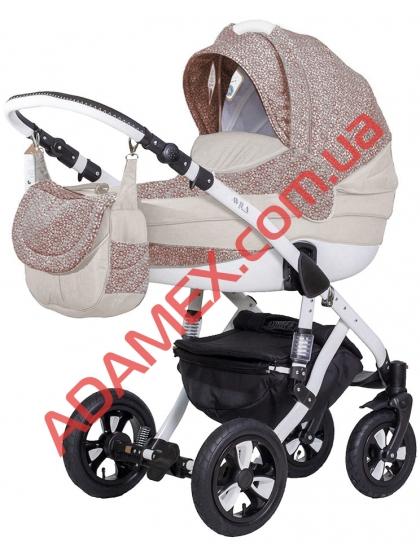Коляска 2в1 Adamex Avila Len 33L