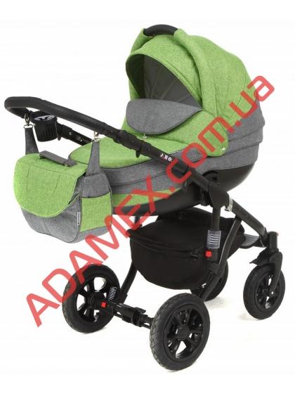 Коляска 2в1 Adamex Avila Len 404L
