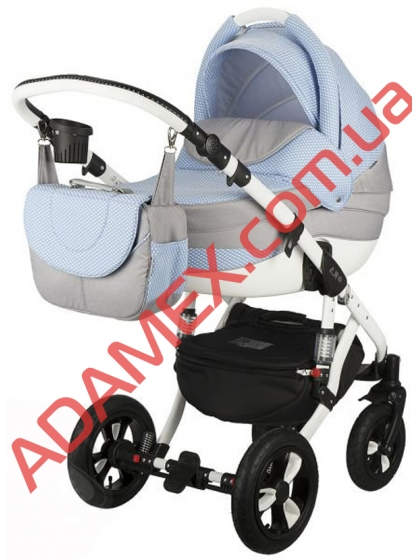 Коляска 2в1 Adamex Avila Len 55L