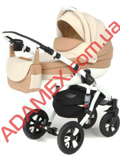 Коляска 2в1 Adamex Avila Len 67L