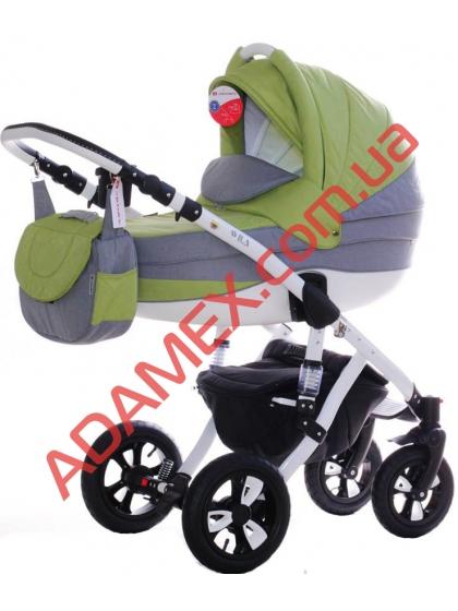 Коляска 2в1 Adamex Avila Len 7G