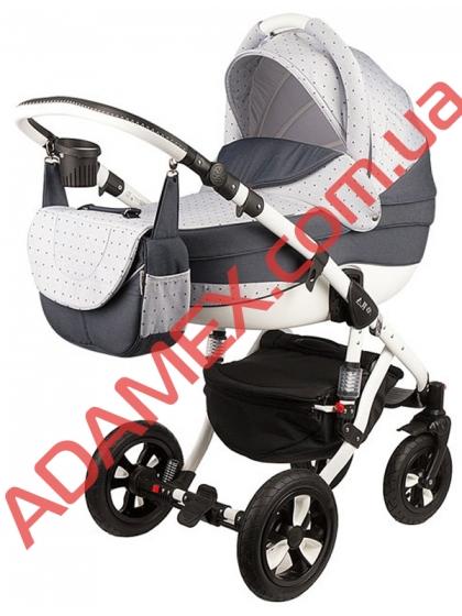Коляска 2в1 Adamex Avila Len 86L