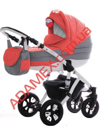Коляска 2в1 Adamex Avila Len 999G