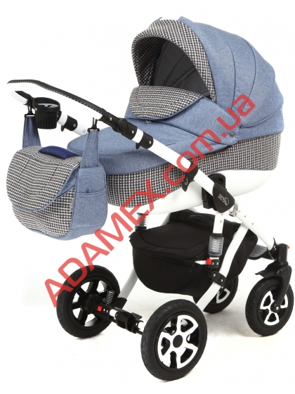 Коляска 2в1 Adamex Barletta Eco 646K