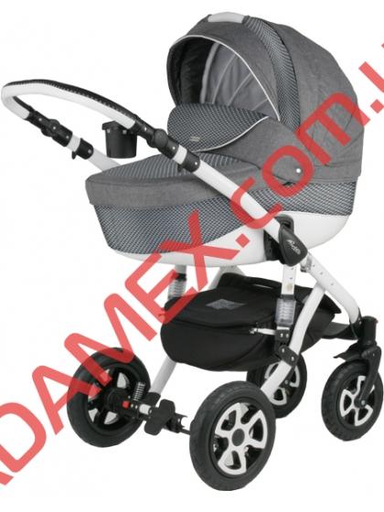 Коляска 2в1 Adamex Barletta Len 342W