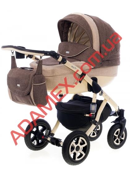 Коляска 2в1 Adamex Barletta Len 408L