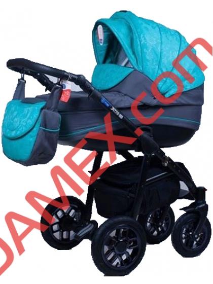Коляска 2в1 Adamex Jetto 570G