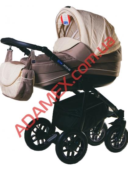 Коляска 2в1 Adamex Jetto 512G