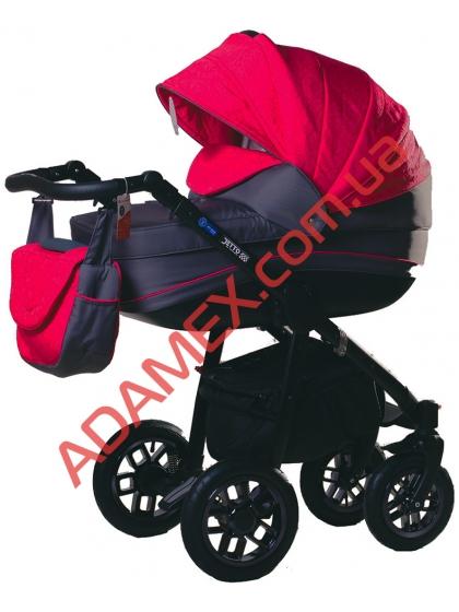 Коляска 2в1 Adamex Jetto 522G