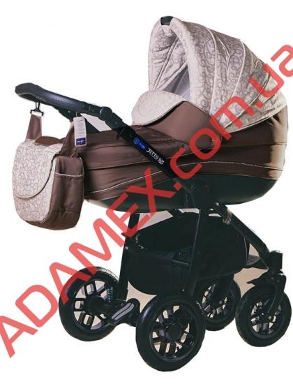 Коляска 2в1 Adamex Jetto 535G