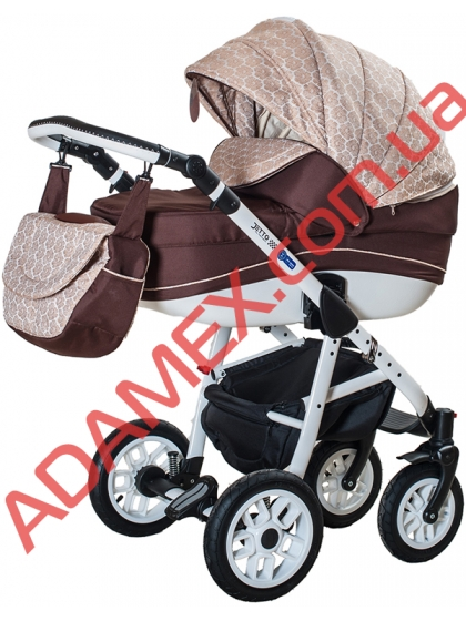 Коляска 2в1 Adamex Jetto 926G