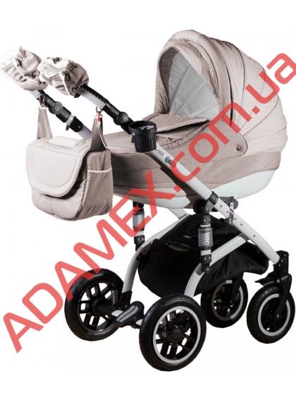 Коляска 2в1 Adamex Lara Len 54L