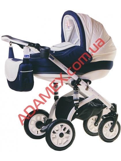Коляска 2в1 Adamex Lara 901G