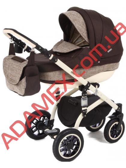 Коляска 2в1 Adamex Lara Eco 600K