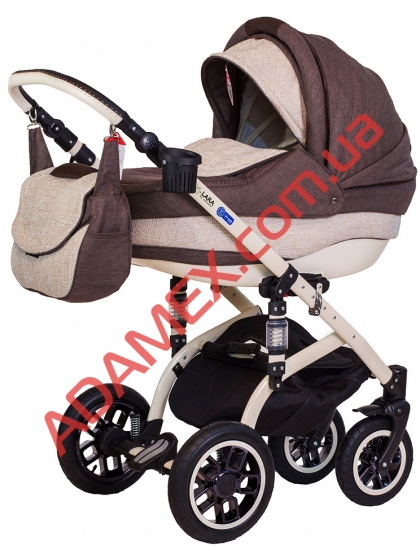 Коляска 2в1 Adamex Lara Eco 610K
