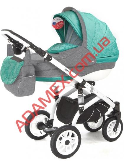 Коляска 2в1 Adamex Lara Len 300W